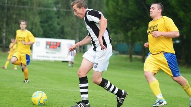 Stejně jako v minulé sezoně se i letos budou v krajské I. B třídě střetávat fotbalisté Doudleb a Albrechtic.