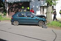 Dopravní nehoda v Kostelci n. Orl. 6. 6. 2016