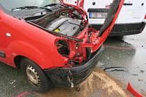 Nedělní nehoda v Rychnově nad Kněžnou