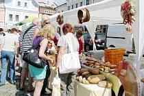 Potravinářská soutěž zavítala i na Staré náměstí