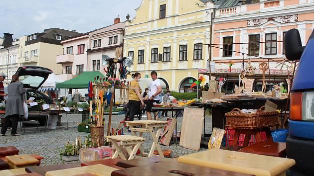 Ze Starého náměstí v Rychnově nad Kněžnou