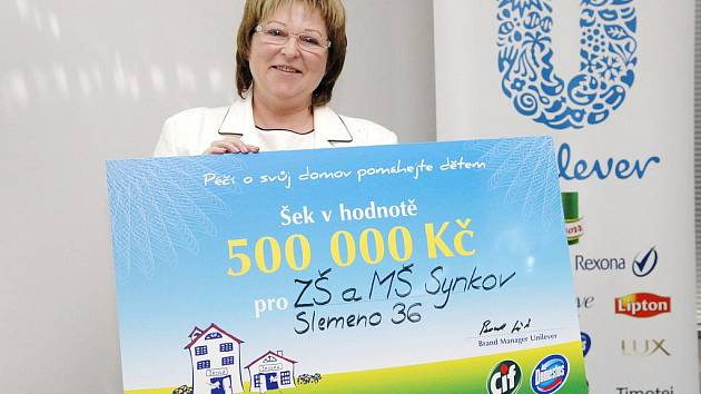 Škola Synkov–Slemeno stanula mezi výherci!