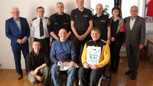 Setkání se zástupci odborů, Nadace policistů a hasičů a vedení HZS KHK.