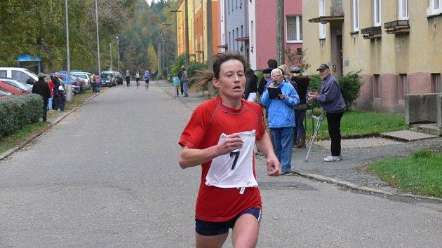 Běžkyně Táňa Metelková z Týniště nad Orlicí