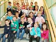 Prvnáčci z 1.C Základní školy Masarykovy v Rychnově nad Kněžnou