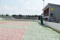 Nové hřiště mohou Semechnickým sportovcům závidět lidé z širokého okolí.