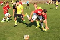 Krajský přebor ve fotbale: FC Spartak Rychnov nad Kněžnou - TJ Sokol Třebeš.
