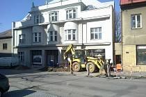 Z rekonstrukce Muzea krajky ve Vamberku