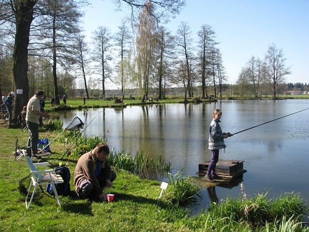 Na rybářské závody, které se konaly v Orbanské zátoce, přišlo 41 malých rybářů