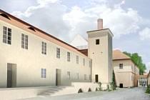 Takto by měla vypadat budova bývalého soudu v Opočně.