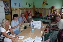 Z jednání pracovní skupiny A -  děti mládež, rodina, dne 28.7.09.