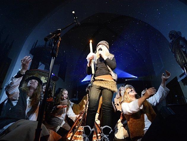 Muzikál Narozený měl v rychnovském kostele sv. Havla obrovský úspěch.