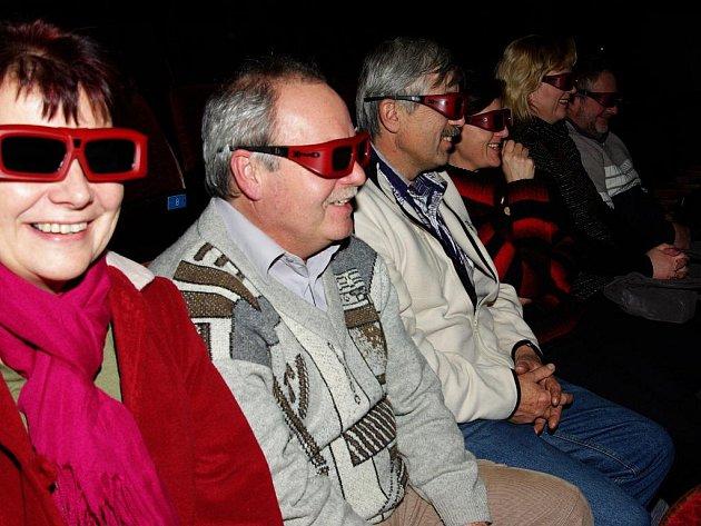 Filmy 3D jsou divácky přitažlivé, Společenské centrum Kino 70 Dobruška jich nabídne na Filmové přehlídce 3D celou řadu.