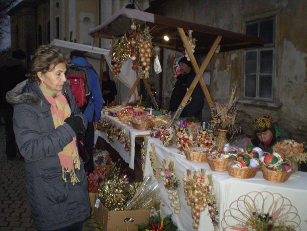 Vánoční ulička Kostelec n. O.