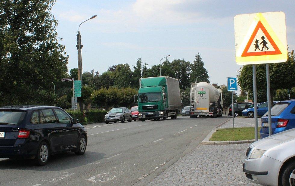 V centru Opočna. Foto: Deník/Jana Kotalová