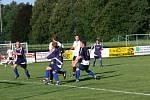 Fotbalové utkání Černíkovic proti Rychnovu