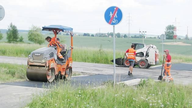 Oprava cyklostezky mezi Rychnovem nad Kněžnou a Solnicí.