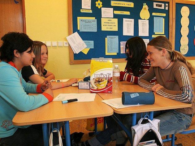 Projekt zaměřený na zdraví v kostelecké základní škole.
