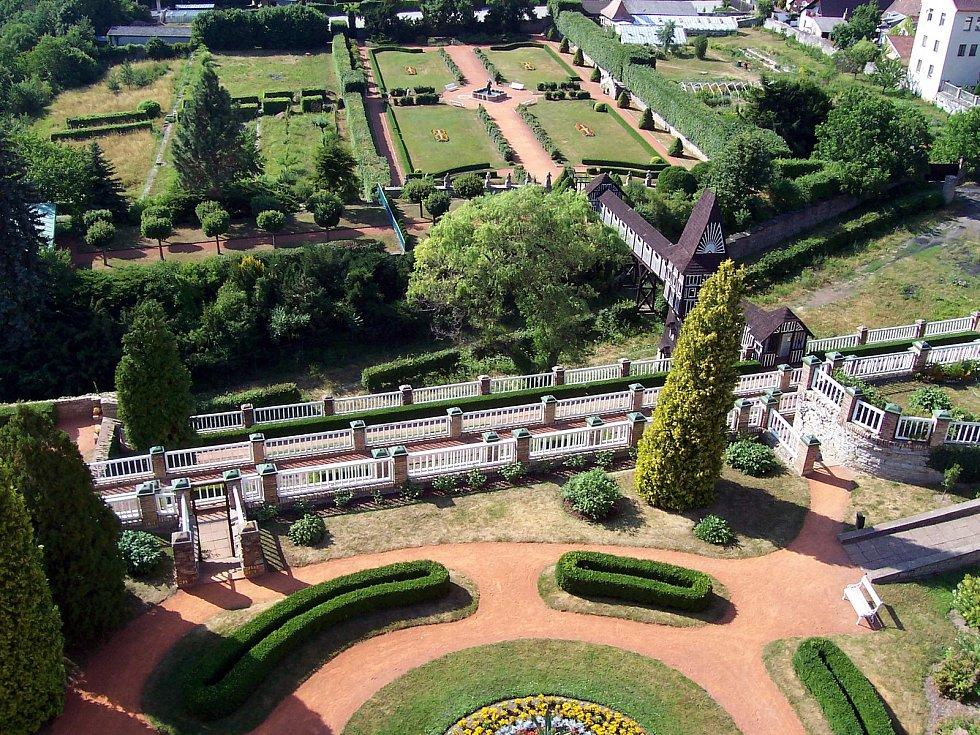 Točilo se i v zahradách novoměstského zámku.