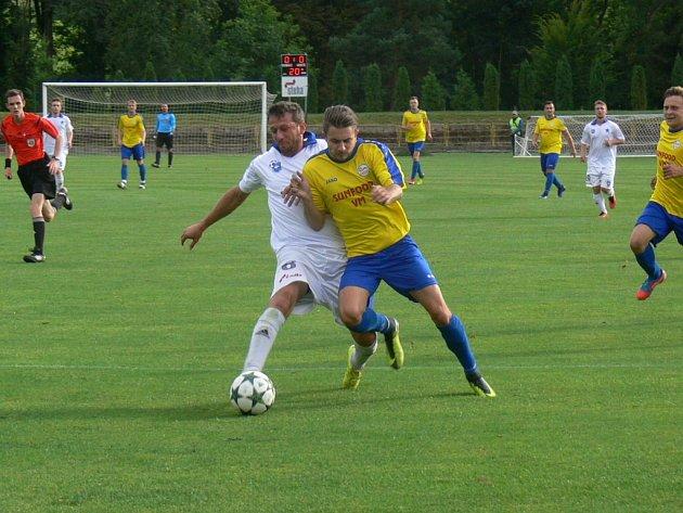 Krajská fotbalová I. A třída: Dobruška - Broumov.