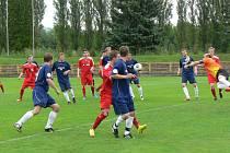 Z fotbalového utkání Dobruška - Úpice