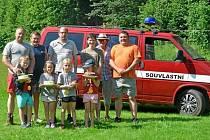Mladí hasiči oslavili dětský den v Souvlastní.