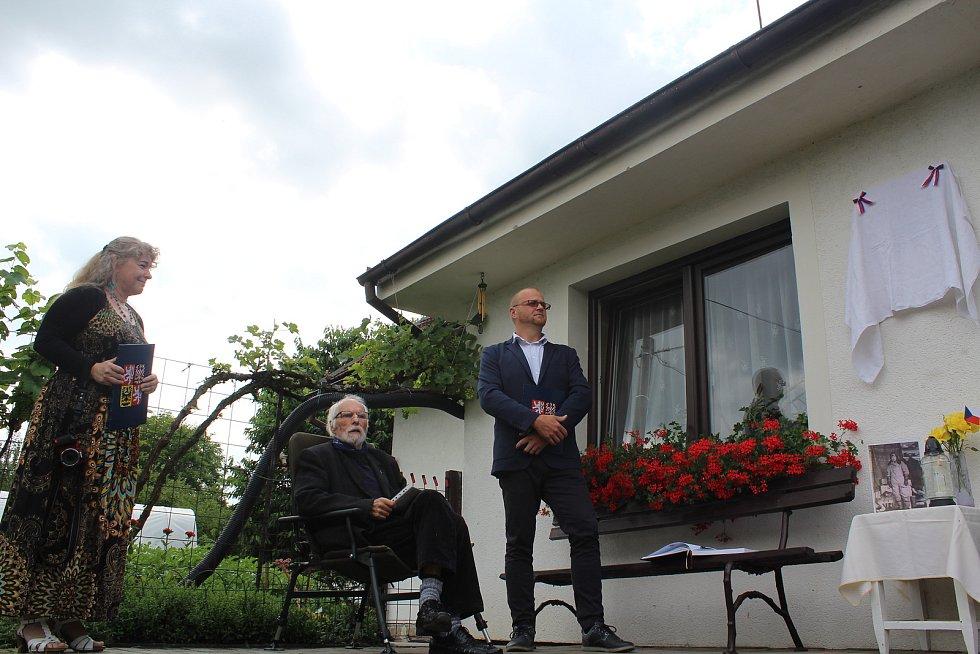 Dagmar Honsnejmanová, Josef Ptáček a Jiří Franc.
