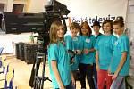 Školní televize ZŠ TGM Borohrádek na setkání v Příbrami