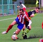Krajský přebor ve fotbale: FC Spartak Rychnov nad Kněžnou - FK Jaroměř.