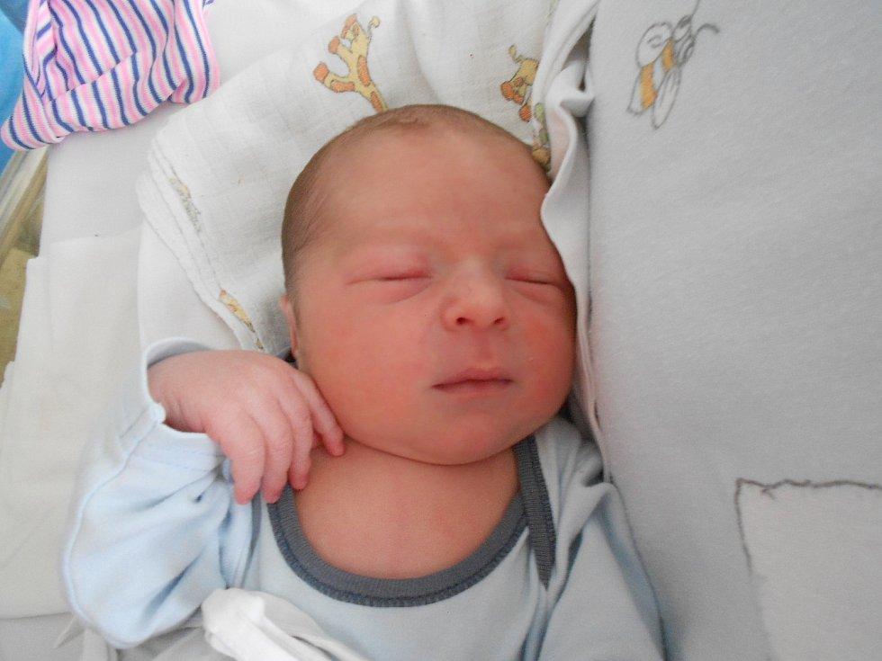 FILIP SARWA poprvé spatřil světlo světa 9. července ve 2.46 hodin. Měřil 50 cm a vážil 3400 g. Radost udělal svým rodičům Monice Minaříkové a Marku Sarwovi z Dlouhé Vsi. Tatínek to u porodu zvládl skvěle.
