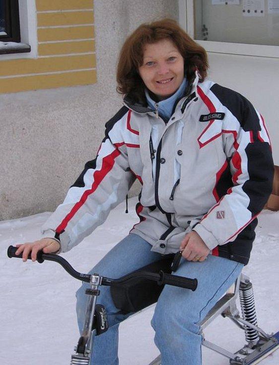 Rychnovačka a 29násobná mistryně světa ve skibobech (z toho čtyřikrát juniorská) a sedminásobná celková vítězka Světového poháru Irena Dohnálková Francová. V roce 2015 získala ocenění Sportovec Rychnovska 2014 v kategorii Sportovní osobnost.