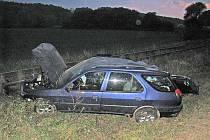 Dopravní nehoda V Rychnově nad Kněžnou, za městskou částí Zbuzany, při výjezdu na obec Slemeno – Synkov.