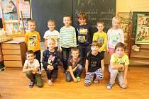 Základní škola Kvasiny - děti z 1. třídy.