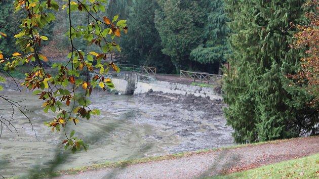 Zámecký rybník v Opočně
