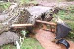 Škody působila voda i na Rychnovsku a Hradecku