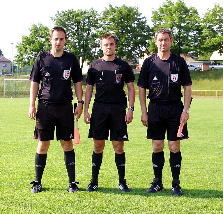 Z těsné výhry se nakonec radovali svěřenci trenéra Jana Čermáka.