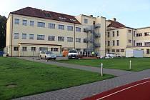 Z rekonstrukce Základní školy v Českém Meziříčí.