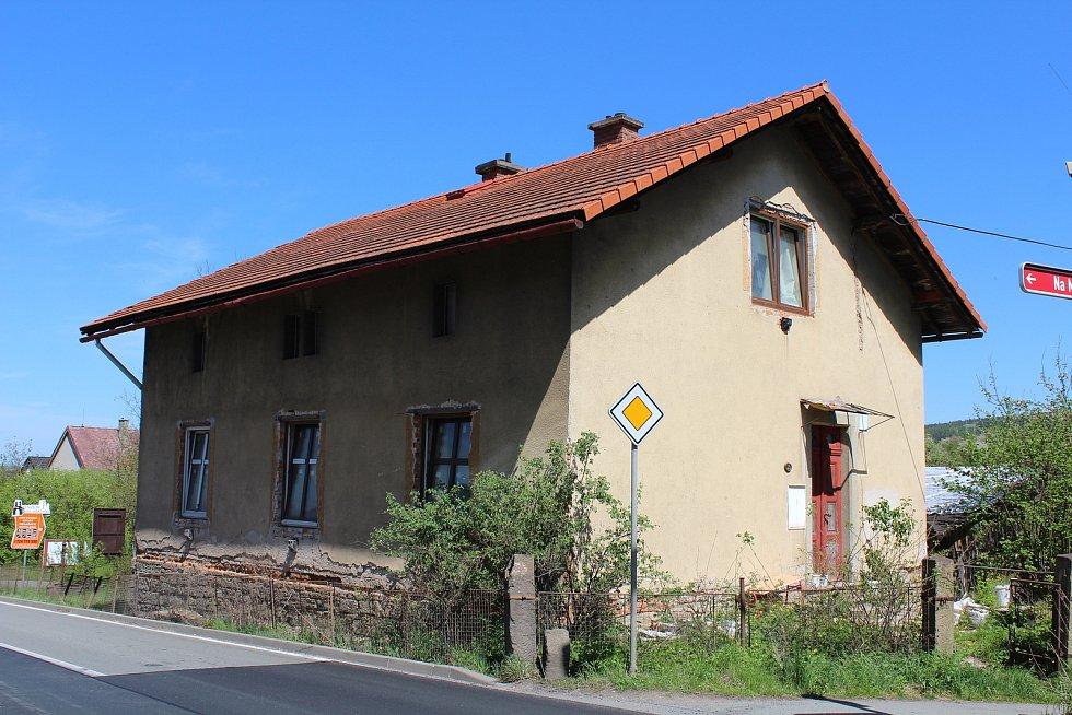Někdejší domek Aloise Bednáře dnes.