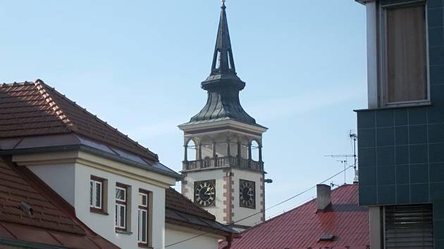 Dobruška - radnice. Ilustrační foto.