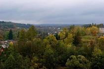 Podzimní pěší výlet do lesoparku Včelný