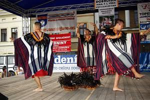 Mezinárodní přehlídka folklorních souborů v Dobrušce