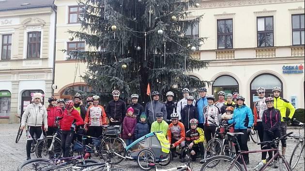 Cyklistický Novoroční švih.