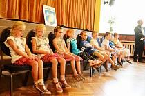 První školní den si užili také žáci v Kvasinách.