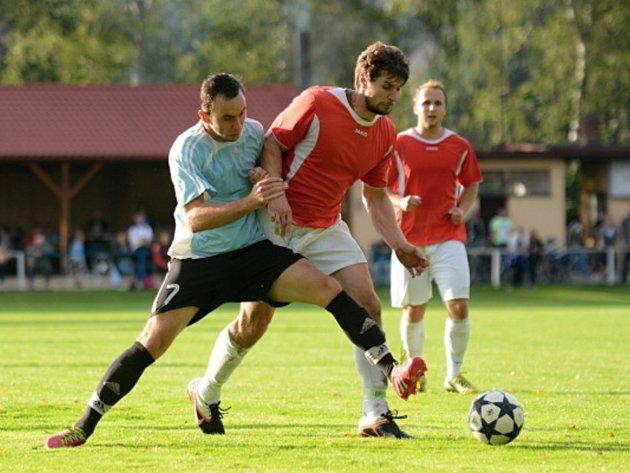 Fotbalisté Ohnišova opět dohrávali v deseti a remízu berou jako výhru