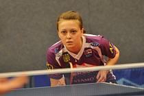 SOUSTŘEDĚNÍ. Doberská stolní tenistka Daniela Rozínková reprezentovala naší vlast na mezinárodním turnaji v Estonsku.
