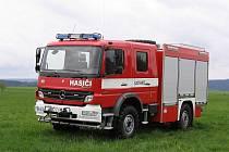 Technika Sboru dobrovolných hasičů v Týništi nad Orlicí.