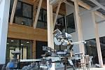 Nová budova Základní speciální školy Neratov v Bartošovicích v Orlických horách. Foto: Deník/Jana Kotalová