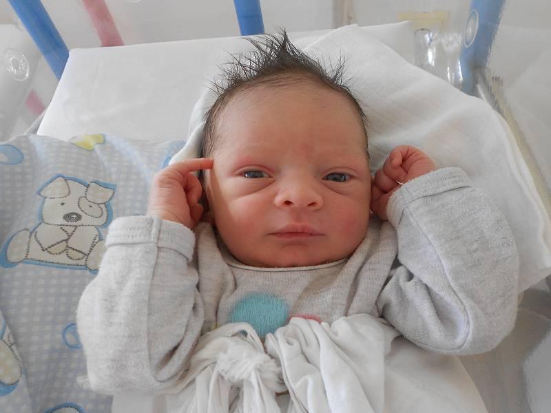 JAN CHALOUPKA poprvé spatřil světlo světa 21. července ve 14.22 hodin. Největší radost udělal svým rodičům Tereze Horákové a Janu Chaloupkovi z Kostelce nad Orlicí. Tatínek byl mamince u porodu úžasnou oporou.
