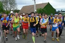 Druhý ročník Mělčanského krosu přilákal na start devětasedmdesát závodníků