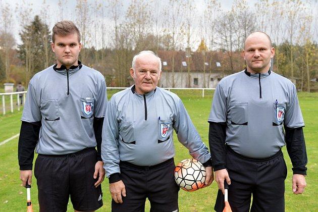 Okresní přebor II. třídy ve fotbale: Zdelov - Kostelecká Lhota.